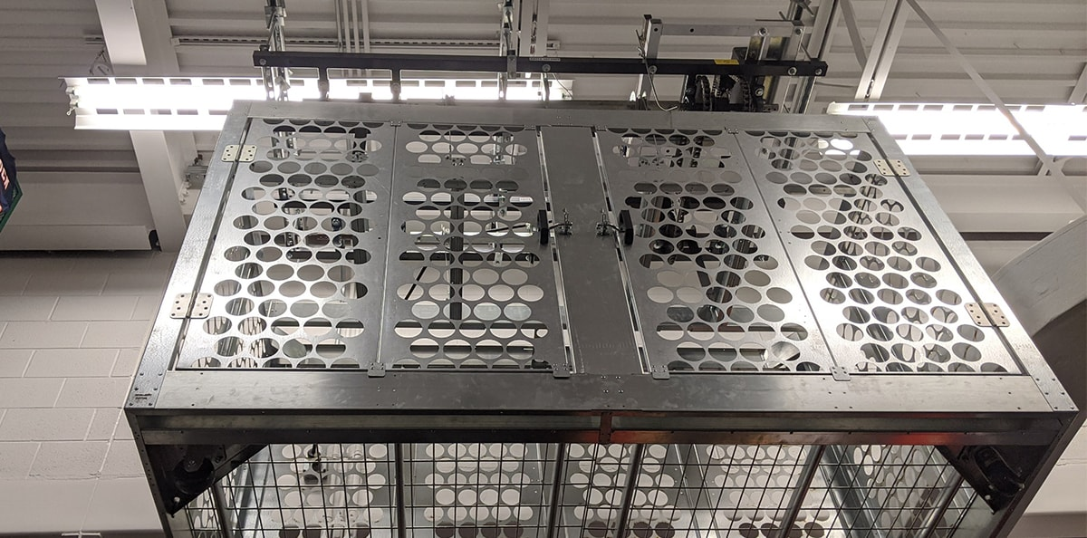 Lift and Grow security cages are perfect for cannabis distributors