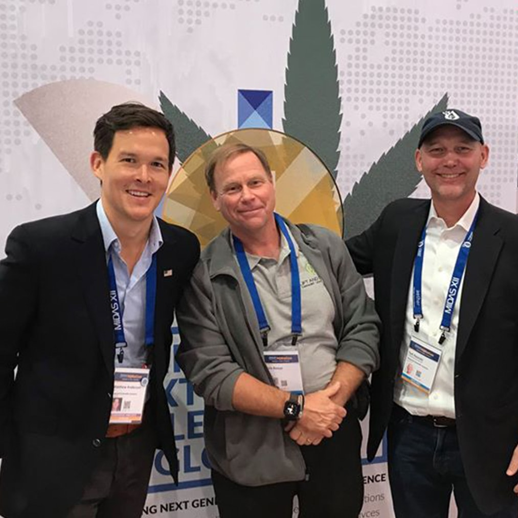 ceo of lift and grow at cannabis conference