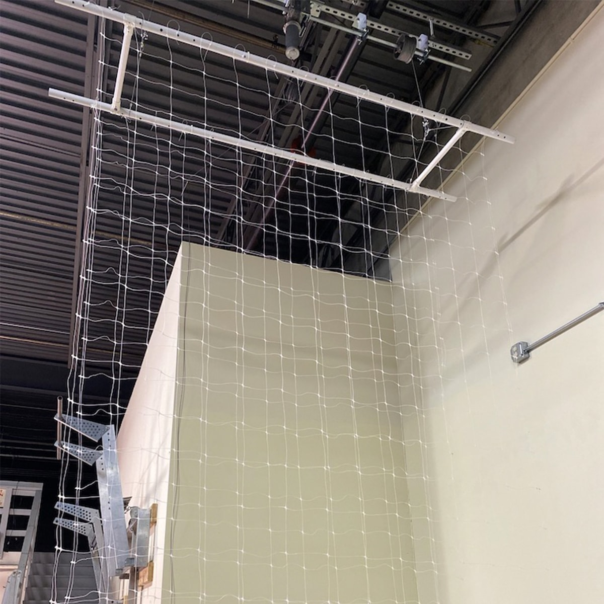 cannabis drying nets side view